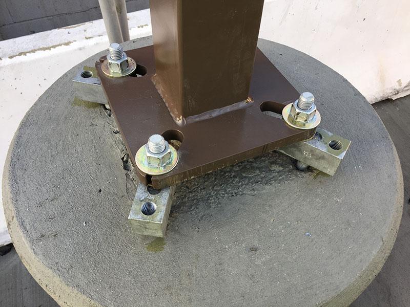 Anchor Bolt Adapter Light Pole Systems